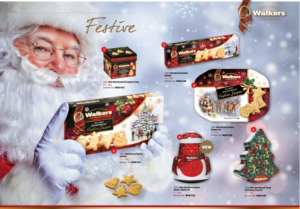 Walkers Festive range - Christmas Catalogue 2017